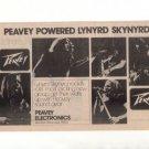 LYNYRD SKYNYRD PEAVEY PROMO AD 1974