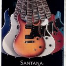 * SANTANA SE PRS PAUL REED SMITH GUITAR AD