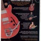 HAMER GUITARS PROMO AD 2001