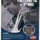 * 1974 FENDER GUITAR STRINGS POSTER TYPE PROMO AD