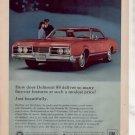 1967 1968 OLDSMOBILE DELMONT 88 VINTAGE CAR AD