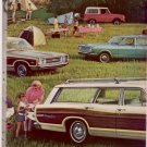 1968 FORD TORINO WAGON FALCON FUTURA WAGON CAR AD 4-PG