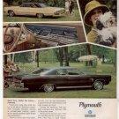 1967 1968 PLYMOUTH SPORT FURY VINTAGE CAR AD