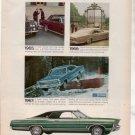 1967 FORD GALAXIE VINTAGE CAR AD