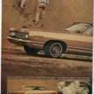 1967 MERCURY MARQUIS VINTAGE CAR AD 2-PAGE