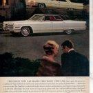 1966 1964 CADILLAC SEDAN DE VILLE CAR AD