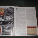 1984 HONDA CIVIC WAGON ORIGINAL ROAD TEST 4-PAGE
