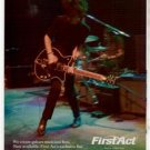 NICK ZINNER FIRST ACT GUITAR AD
