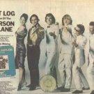 JEFFERSON AIRPLANE FLIGHT LOG PROMO AD 1977