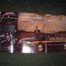 1985 1986 CHRYSLER LEBARON VINTAGE CAR AD 2-PAGE