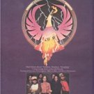 1980 ROSSINGTON COLLINS BAND POSTER TYPE AD