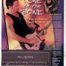STEVE LUKATHER RIVERA BONEHEAD AMPLIFIER AD 1998