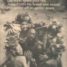 ISAAC HAYES JUICY FRUIT PROMO AD 1976