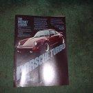 1977 1978 PORSCHE TURBO CARRERA VINTAGE CAR AD