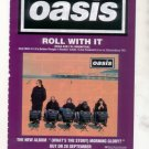 OASIS ROLL WITH IT POSTER TYPE AD