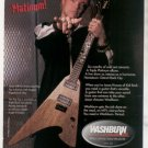 * 1999 JASON KRAUSE KID ROCK WASHBURN GUITAR AD