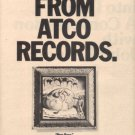 THE JAMES GANG NEW BORN  POSTER TYPE AD 1975
