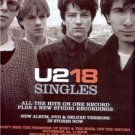 U2 BONO 18 SINGLES POSTER TYPE AD