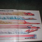 1982 BUDWEISER RACING CAR AD TRUCK BOAT 2-PAGE
