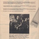 * 1977 RY COODER POSTER TYPE AD
