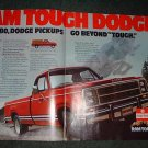 1980 DODGE RAM PICKUP TRUCK AD