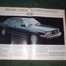 1980 AUDI 5000 DIESEL CAR AD