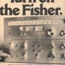 1975 FISHER FM-2300 CA-2300 RECEIVER TUNER AD