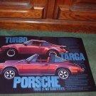 1976 1977 PORSCHE TURBO CARRERA 911S TARGA CAR AD