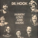 DR HOOK MAKIN LOVE AND MUSIC POSTER TYPE PROMO AD 1977