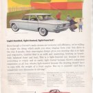 * 1960 CHEVY CORVAIR 700 VINTAGE CAR AD