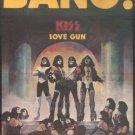KISS LOVE GUN LP PROMO AD 1977