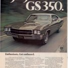 1969 BUICK GS350 AD