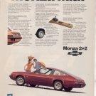 1975 CHEVY MONZA 2+2 VINTAGE CAR AD