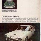 1966 1967 TRIUMPH 2000 SEDAN VINTAGE CAR