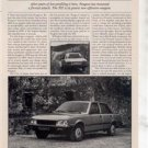1980 1981 PEUGEOT 505 S 505S ROAD TEST AD 5-PAGE