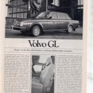 1980 VOLVO GL VINTAGE ROAD TEST AD 6-PAGE