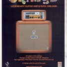 * ORANGE OR50H AMPLIFIER AD