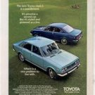 1970 1971 TOYOTA MARK II VINTAGE CAR AD