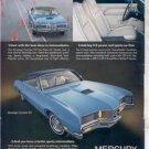 1971 MERCURY MONTEGO GT VINTAGE CAR AD
