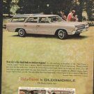 * 1965  OLDSMOBILE VISTA CRUISER WAGON PHOTO PRINT AD
