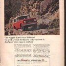 * 1964 1965 INTERNATIONAL SCOUT PHOTO PRINT AD