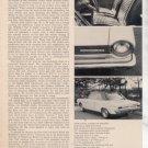 1964 1965 RAMBLER AMERICAN VINTAGE ROAD TEST AD 3-PAGE