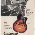 * 1993 JOE PASS EPIPHONE EMPEROR GUITAR AD