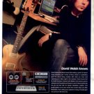 DAVID WALSH M-AUDIO AD