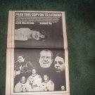 1970 STEVE MILLER BAND NUMBER FIVE POSTER TYPE AD