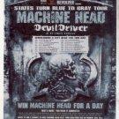* MACHINE HEAD DEVIL DRIVER TOUR AD CONTEST