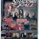 * SHADOWS FALL THE WAR WITHIN TOUR AD