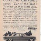 1960 CHEVY CORVAIR 700 SEDAN VINTAGE CAR AD
