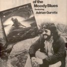 GRAEME EDGE BAND FEATURING ADRIAN GURVITZ PROMO AD 1975