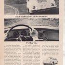 1965 1966 PORSCHE VINTAGE CAR AD